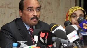 président mauritanien