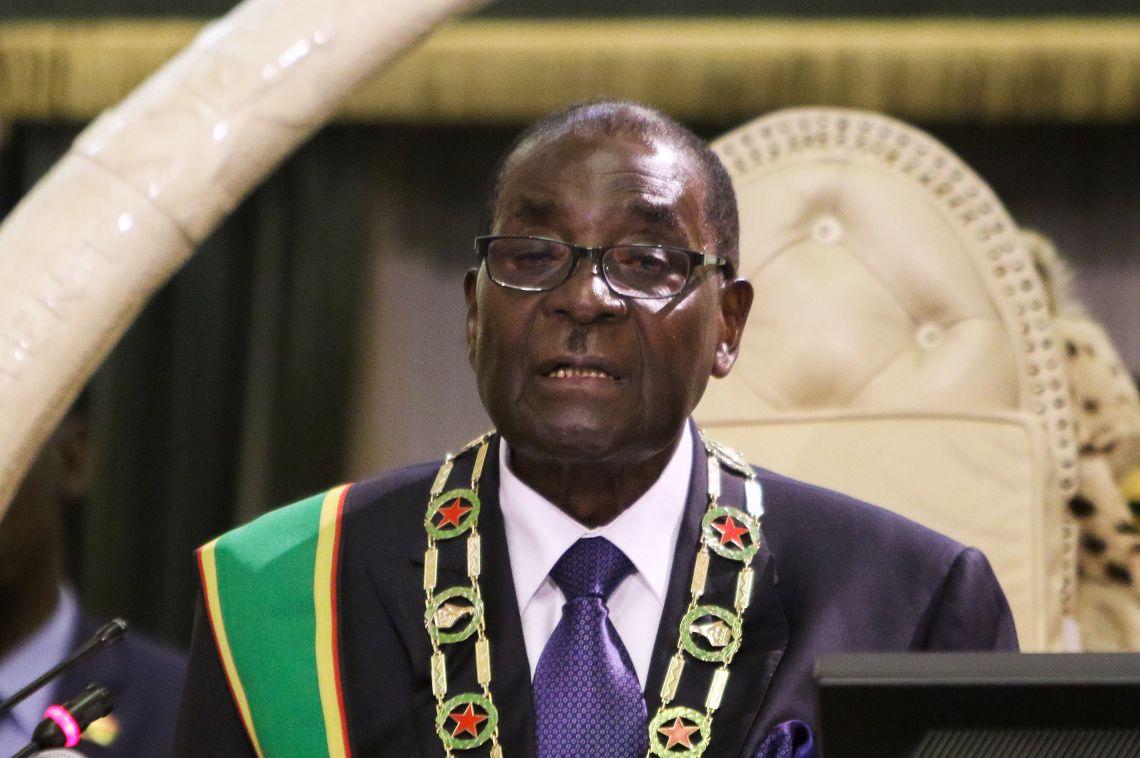 ZIMBABWE-POLITICS-PARLIAMENT