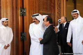 Hollande au quatar